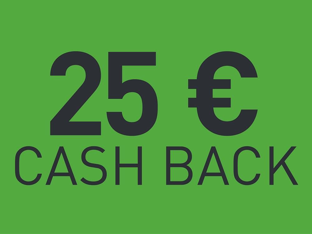 Festool €25 cash back assortiment