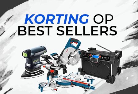 Korting op best verkochte gereedschap