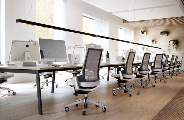 Totaalinrichting kantoorruimtes