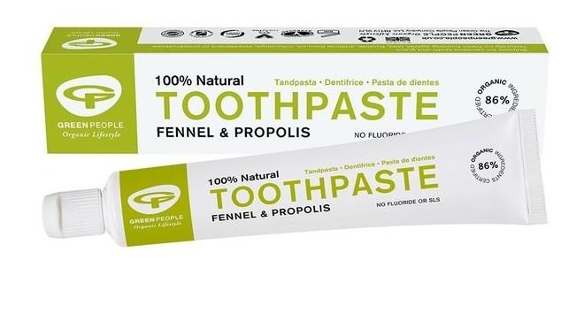 tandpasta zonder fluoride