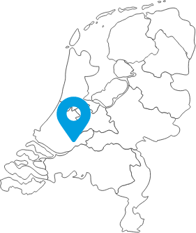 Inside Office Papendrecht landkaart