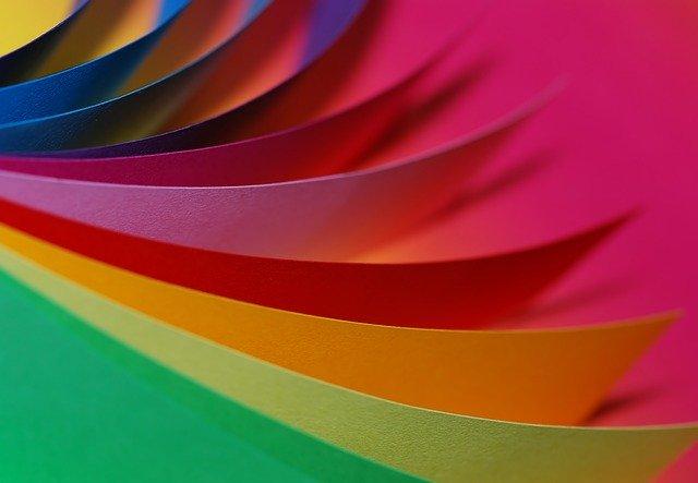 Kleuren papier