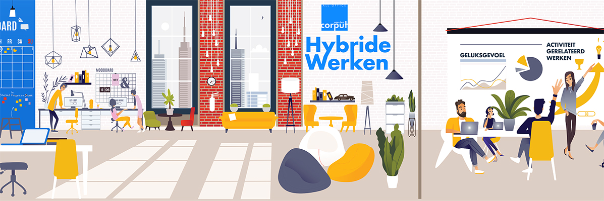 Hybride werken met Van den Corput