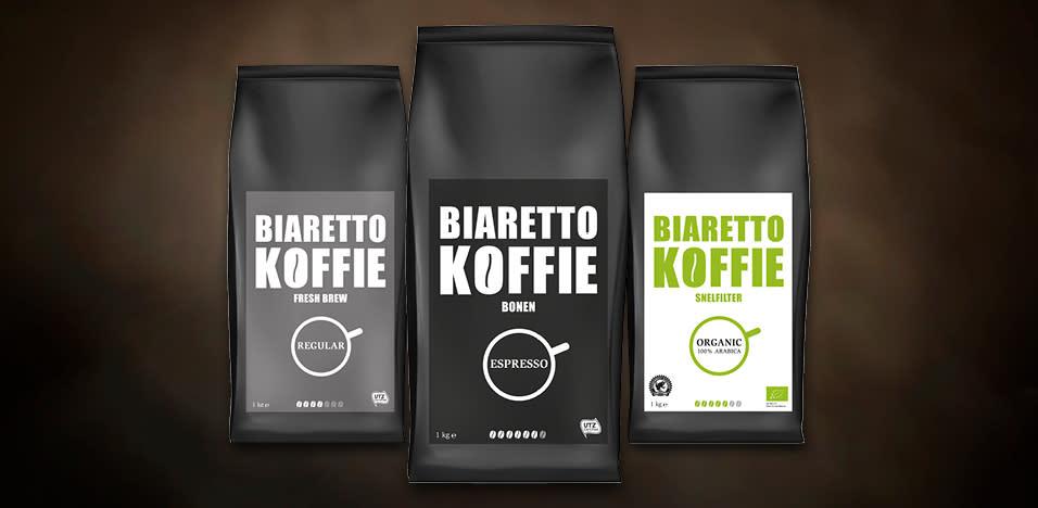 Biaretto Koffie soorten