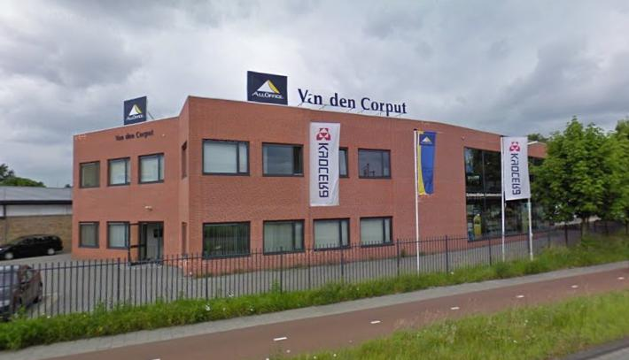 Bedrijfspand All Office Van den Corput Breda
